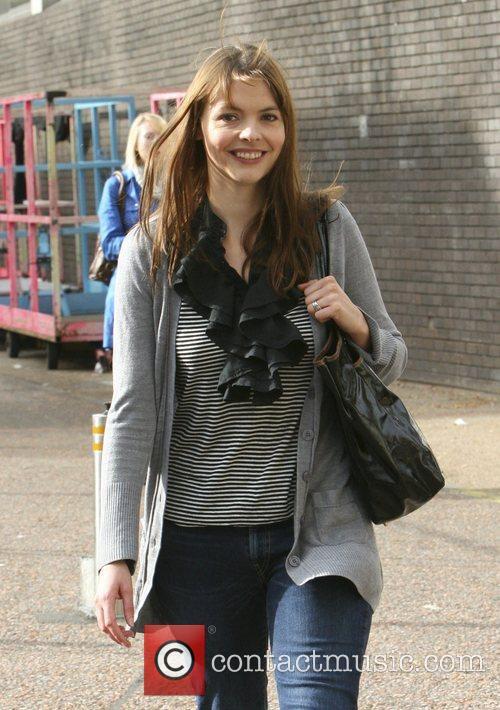 Kate Ford outside the London Studios London, England