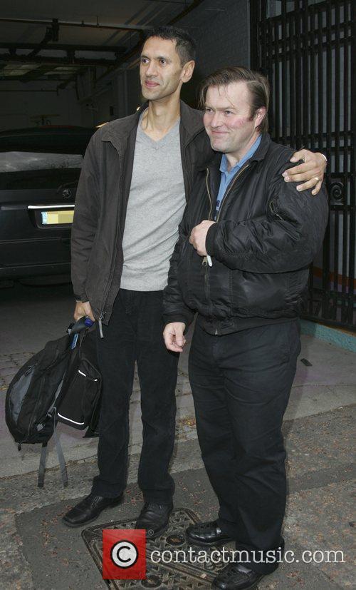 Paul Bazely outside the London Studios London, England