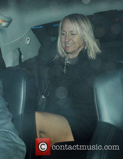 Carol McGiffin attends a party to celebrate ten...