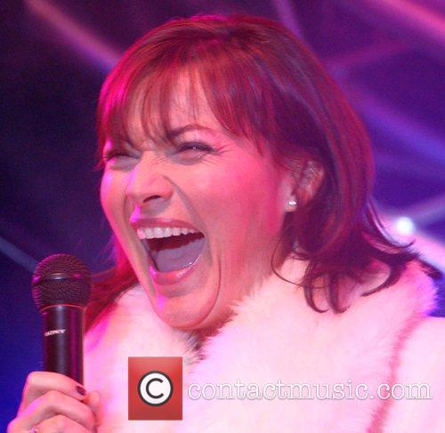 Lorraine Kelly attends the switching on of the...