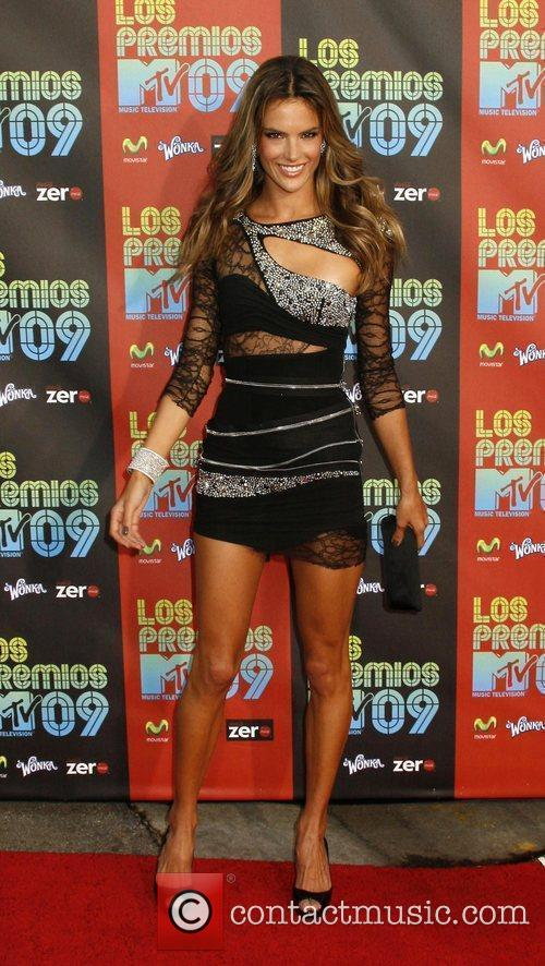 Alessandra Ambrosio and Mtv 2