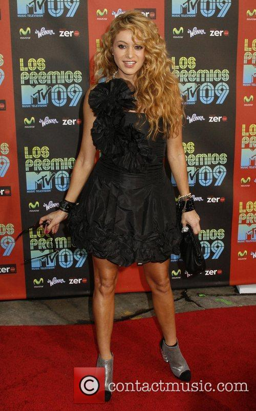 Paulina Rubio and Mtv 8