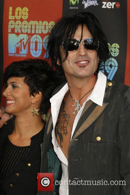 Sofia Touffa and Tommy Lee Los Premios MTV...