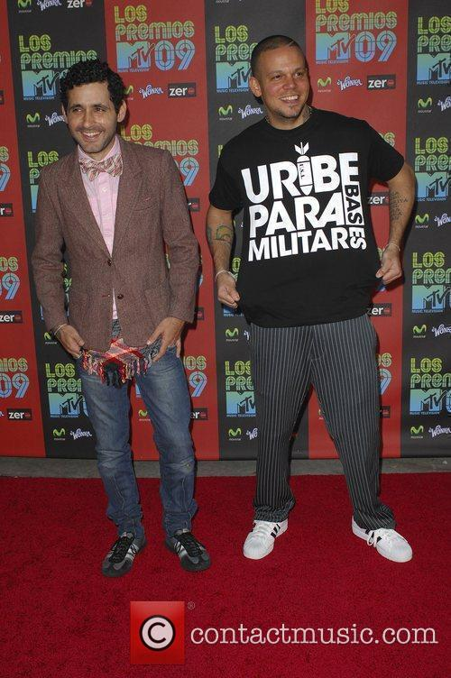 Calle Los Premios MTV 2009 at the Gibson...