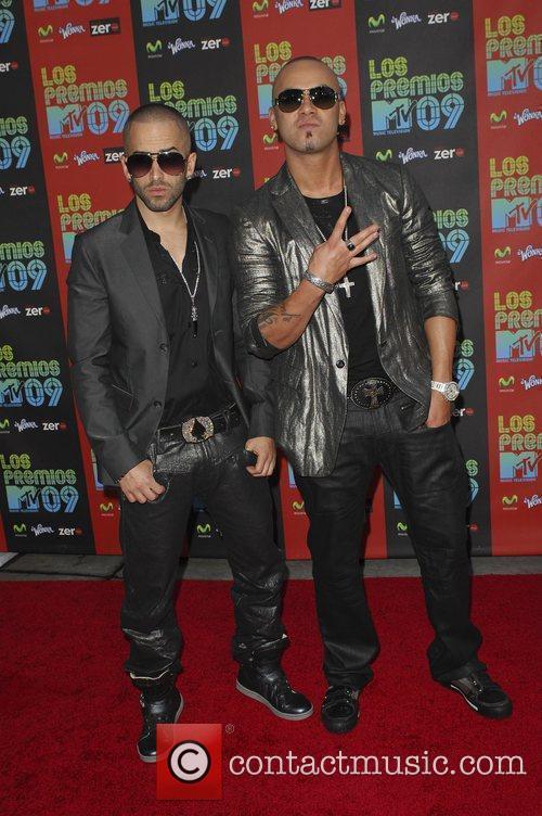 Wishin and Yandel Los Premios MTV 2009 at...
