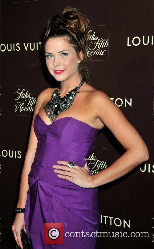 Erin Lucas Louis Vuitton 2010 Cruise Collection launch...