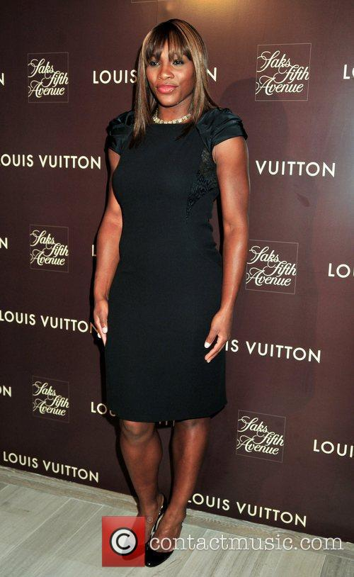 Serena Williams Louis Vuitton 2010 Cruise Collection launch...