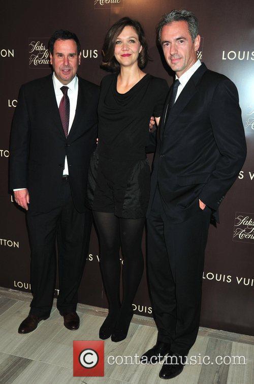 Steve Sadove and Maggie Gyllenhaal 1