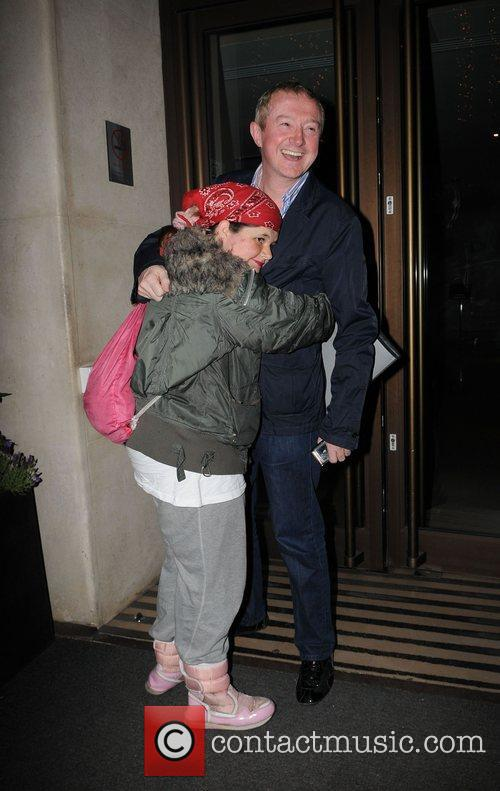Louis Walsh is accosted by a obsessed female...