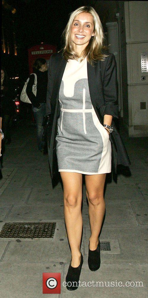 zLouise Redknapp  leaving Nobu Berkeley restaurant London,...
