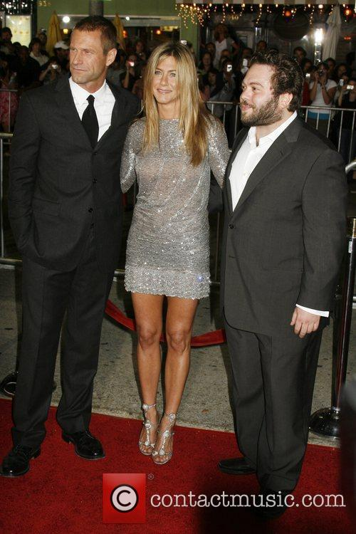 Aaron Eckhart, Jennifer Aniston and Dan Fogler Los...