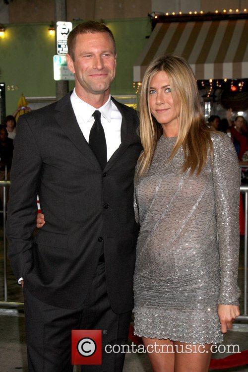 Aaron Eckhart and Jennifer Aniston Los Angeles premiere...