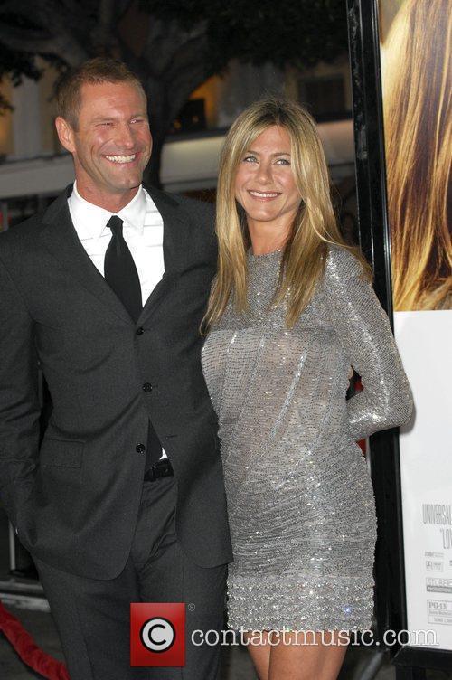 Jennifer Aniston and Aaron Eckhart Los Angeles premiere...