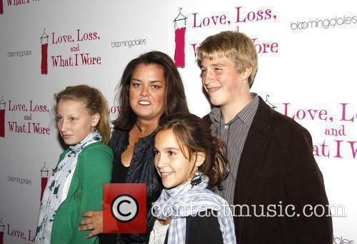 Chelsea O'Donnell, Rosie O'Donnell, family friend and Parker...