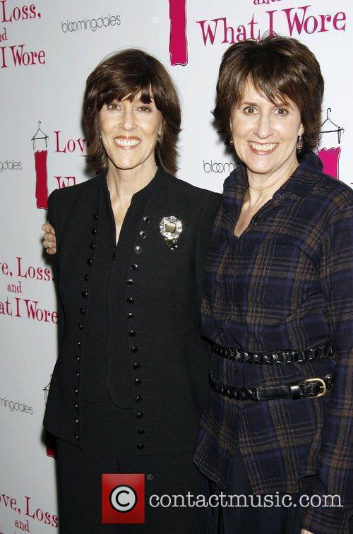 Nora Ephron and Delia Ephron Opening Night After...