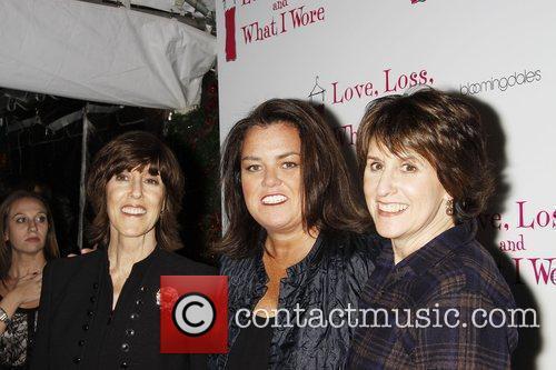 Nora Ephron, Rosie O'donnell and Delia Ephron
