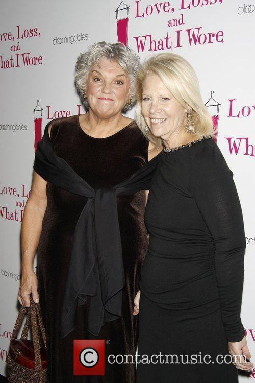 Tyne Daly and Daryl Roth Opening Night After...