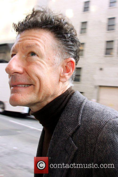 Lyle Lovett and David Letterman 3