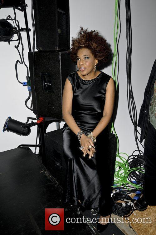 Macy Gray performs at Jerell Scott Fashion Event...