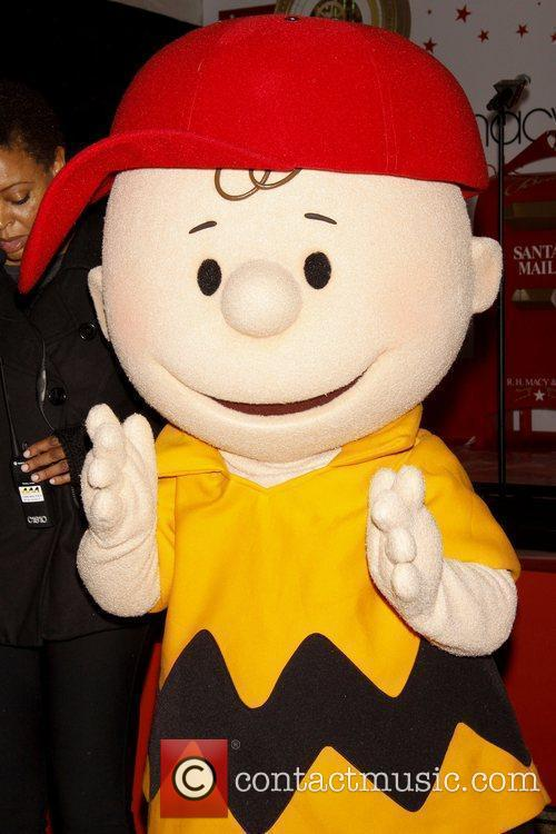 Charlie Brown Macy's Herald Square 'Holiday Window Unveiling...