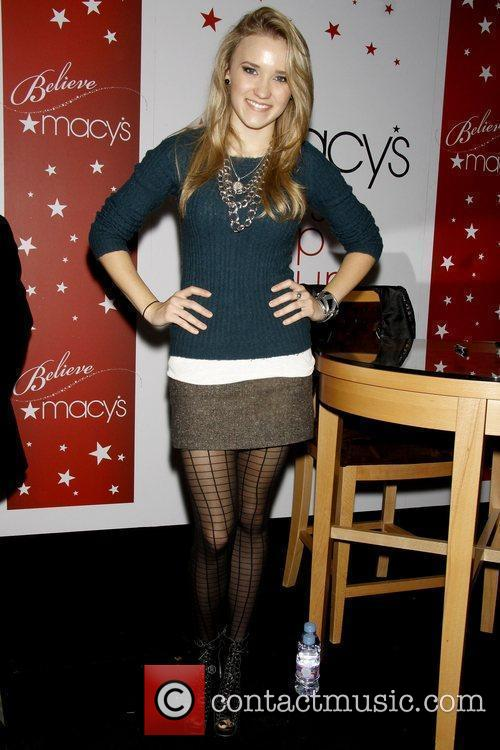 Emily Osment Macy's Herald Square 'Holiday Window Unveiling...