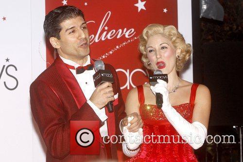 Tony Yazbeck and Mara Davi from the Broadway...