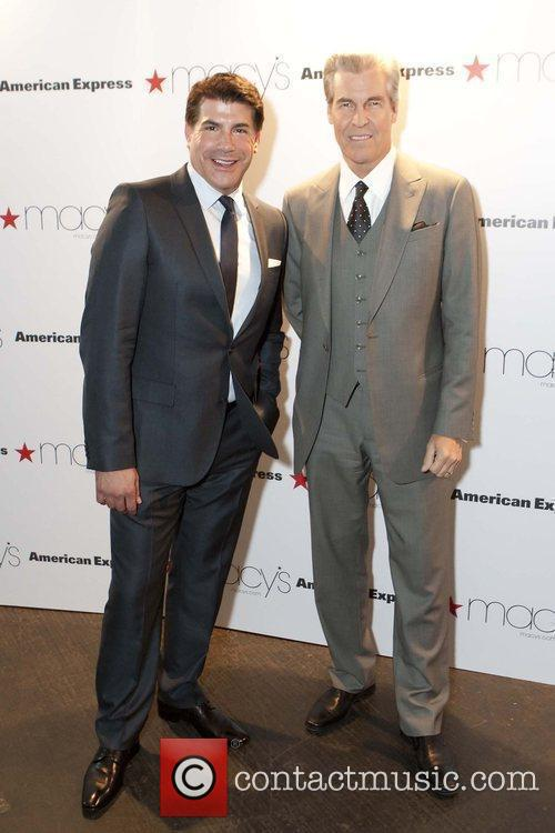 Bryan Batt and Terry Lundgren  at the...