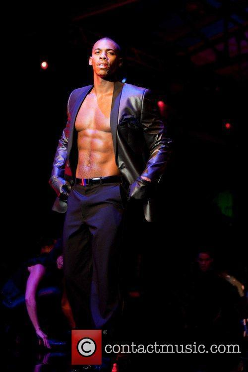 Mehcad Brooks  models at the Macy's Passport...