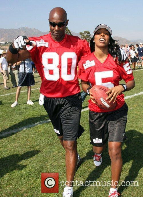 Kelly Rowland and Jerry Rice 5