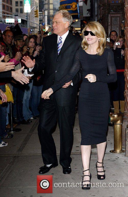 David Letterman and Madonna 1