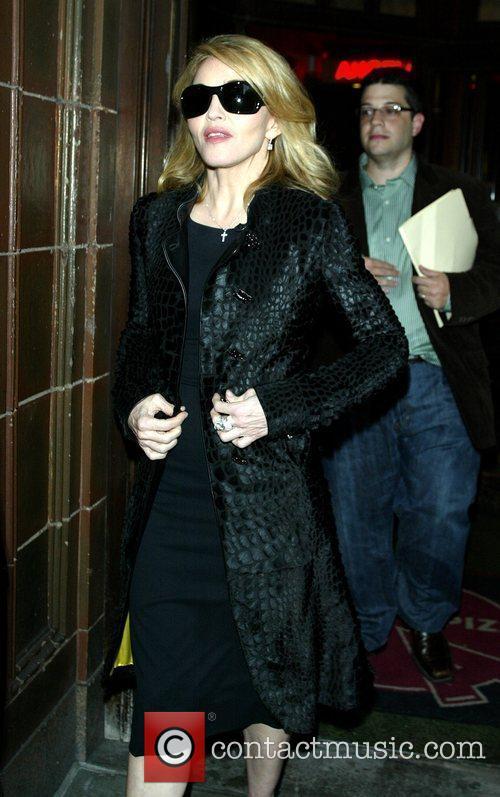 David Letterman, Madonna
