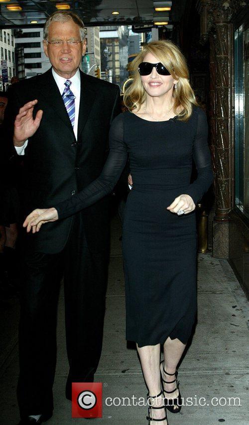 David Letterman and Madonna 2