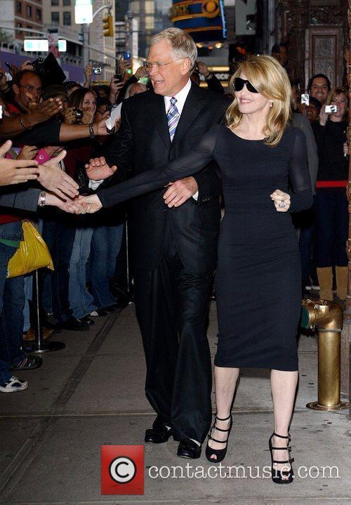 David Letterman and Madonna 3