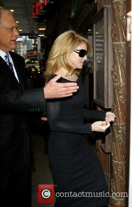 Madonna and David Letterman 1