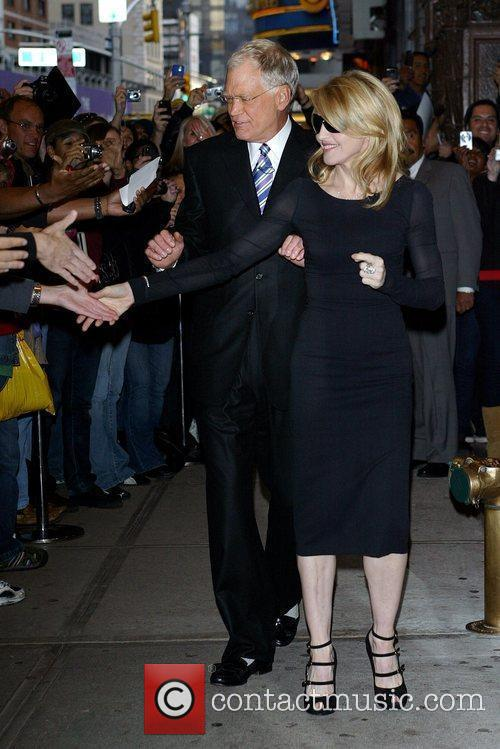 Madonna and David Letterman 7