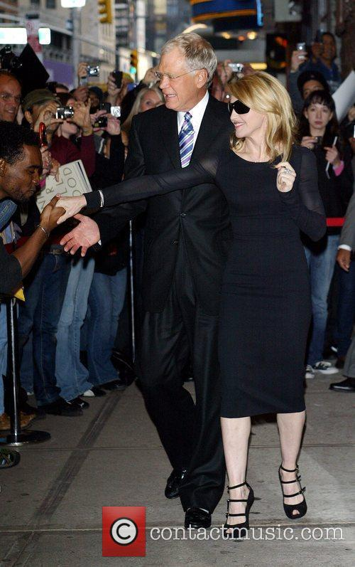 Madonna and David Letterman 5