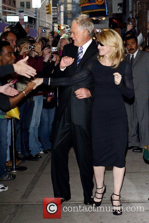 David Letterman and Madonna 5