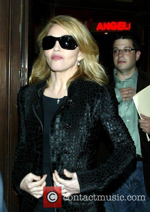 Madonna and David Letterman 2
