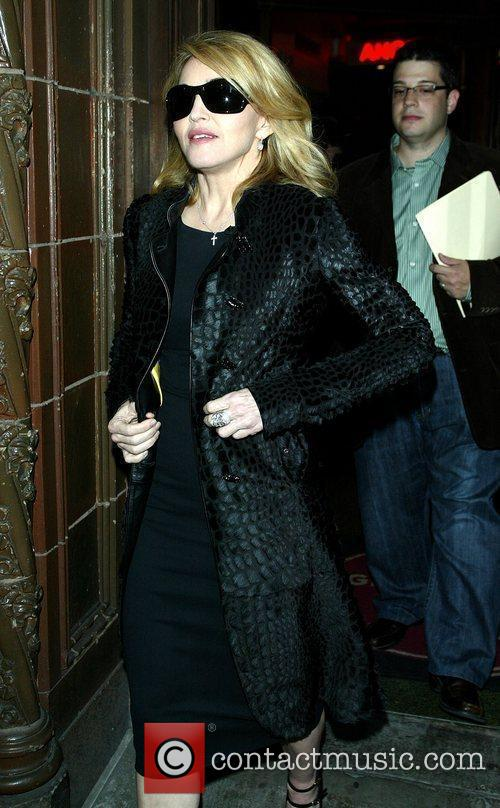 Madonna and David Letterman 3