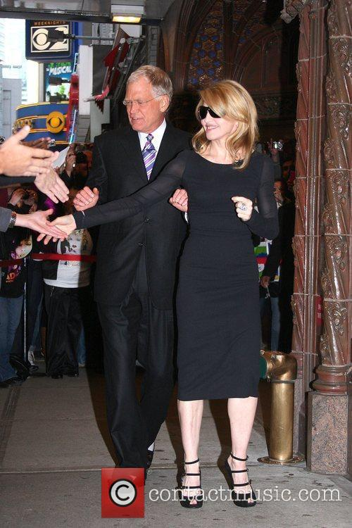 David Letterman and Madonna 6