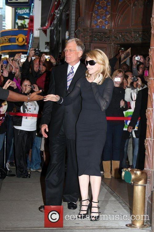 David Letterman and Madonna 2