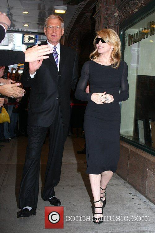 David Letterman and Madonna 11