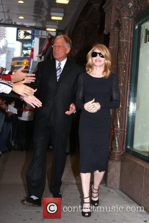 David Letterman and Madonna 10