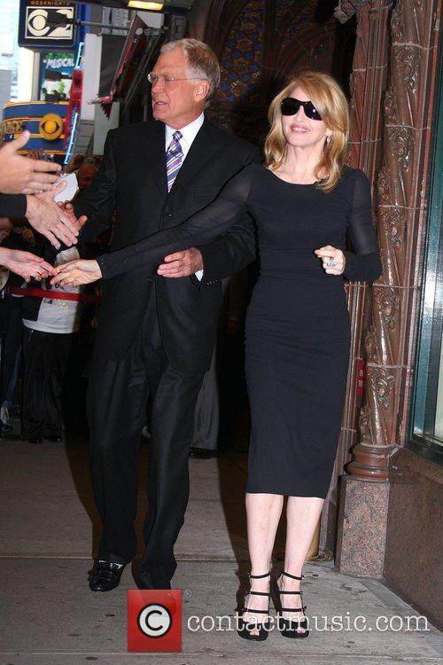 David Letterman and Madonna 7