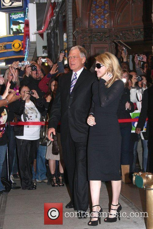 David Letterman and Madonna 4