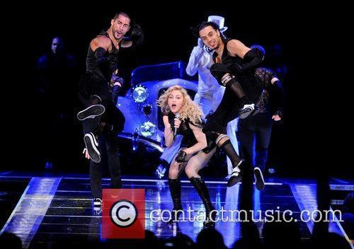 Madonna and O2 Arena 1