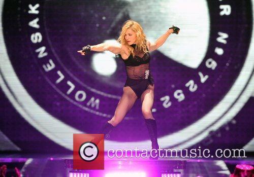 Madonna and O2 Arena 4