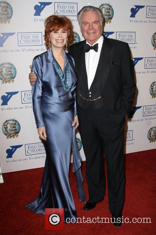 Jill St. John and Robert Wagner 2009 World...