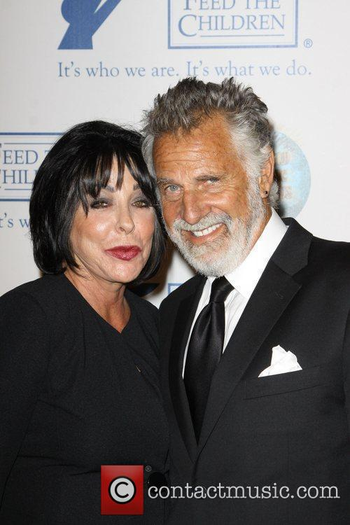 Jonathan Goldsmith with his wife Barbara Goldsmith 2009...