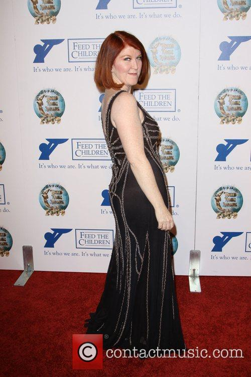 Kate Flannery 2009 World Magic awards held at...